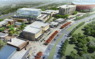 Irving Music Factory Rendering
